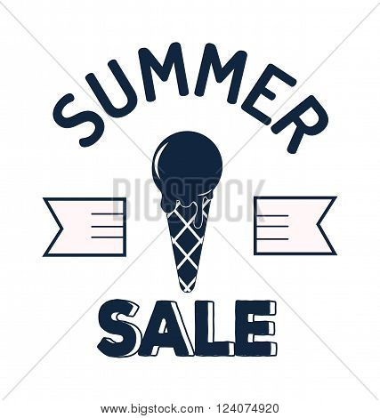 Summer sale logo vector illustration. Summer sale logo isolated on white background. Summer sale logo vector icon illustration. Summer sale logo isolated vector. Summer sale logo silhouette