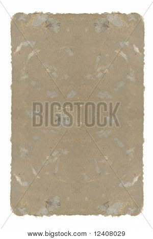 old brown paper sheet