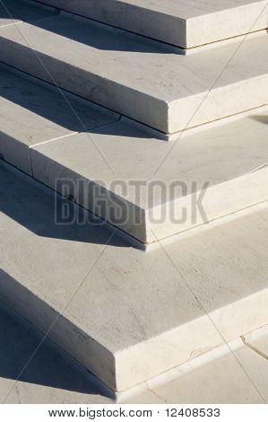 Granite steps geometry