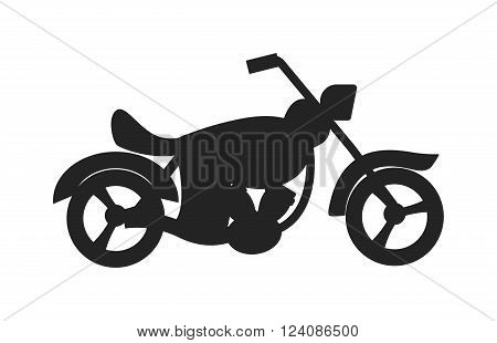 Classic black bike silhouette and sport vencle fast bike race road silhouette vector. Classic transport bike vector. Black classic bike silhouette transport power vector illustration.
