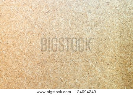 Plywood board surface with vintage filter effect stock photo
