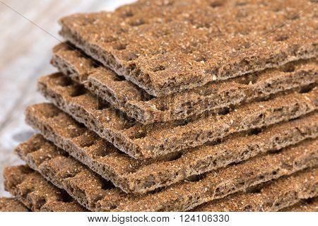 Dry Rye Crispbread