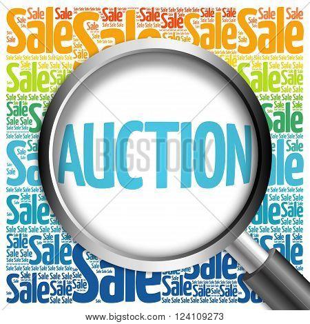 Auction Sale Word Cloud