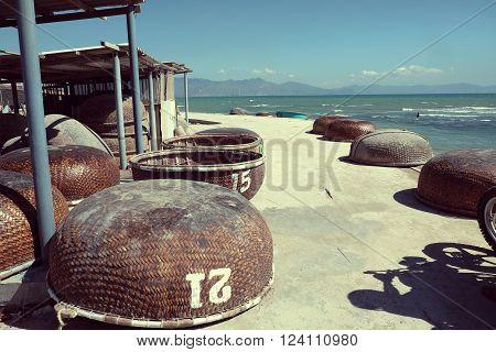 Backpacking, Motor, Vietnam, Man, Seaside