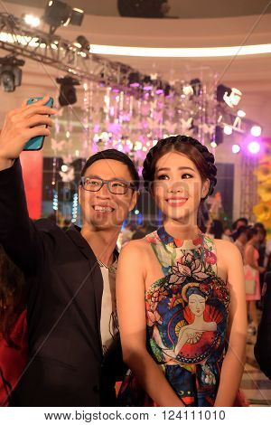 Beautiful Asia Woman, Selfie, Young People