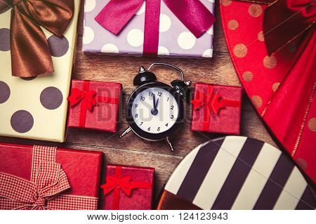 Clock And Gifts