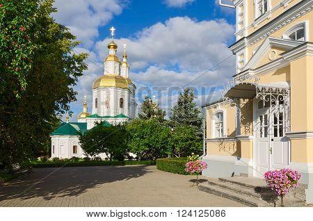 Kazan Cathedral Church of the Nativity and the Church of the Nativity of the Virgin Holy Trinity Seraphim-Diveevo nunnery Diveevo Russia