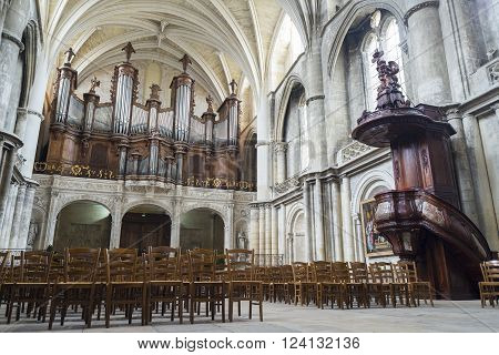 Bordeaux, France - March 25, 2016: 