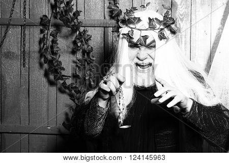 Strange Mysterious Man