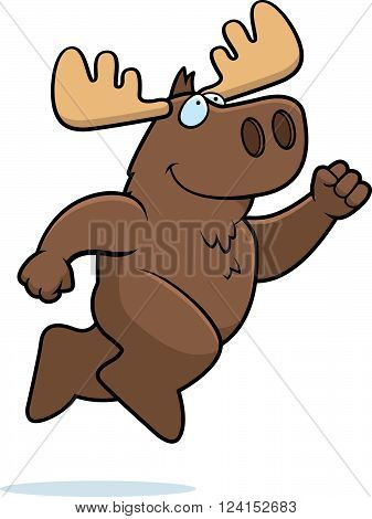 Moose Jumping