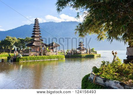 Pura Ulun Danu Bratan. Bedugul Bali Indonesia.