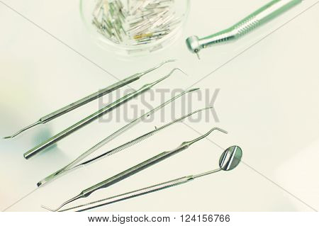 Dentistry, Medicine, Medical Equipment And Stomatology Concept