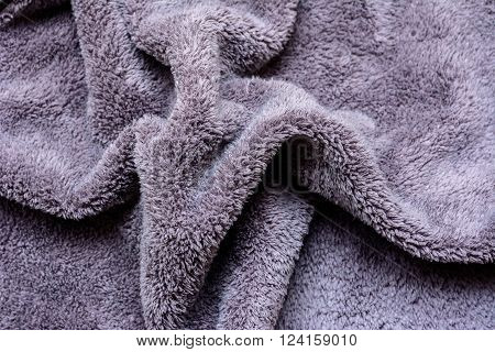 Closeup of microfiber texture for background. texture background