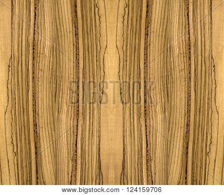 Beautiful Zebra Wood for Wall and Furniture