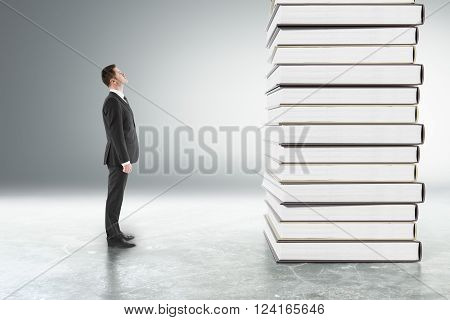 Education Concept Grey