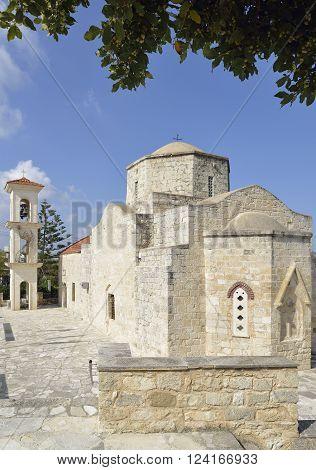 15th century Church of Panagia Chryseleousa Lysos Cyprus