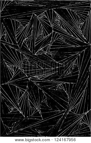 Cobweb abstract on black background abstract illustrations  vector