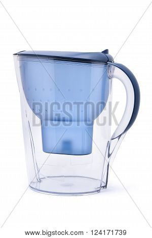 drink water filter isolated on white background