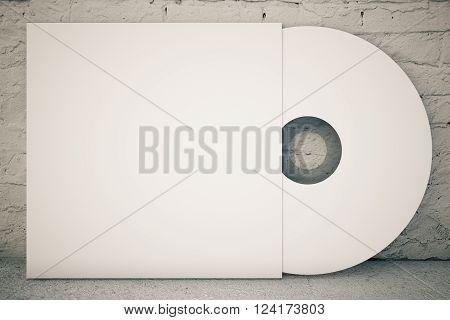 White Cd Disk