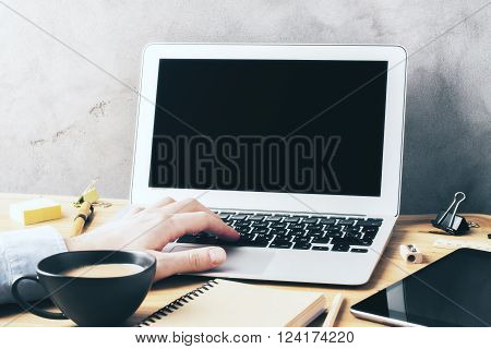 Typing Hand