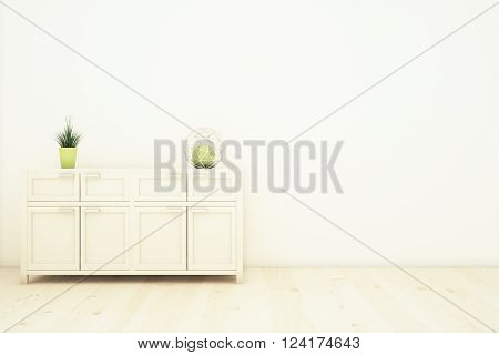 Interior With Cupboard