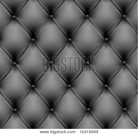 Grey leather background. Vector illustration.