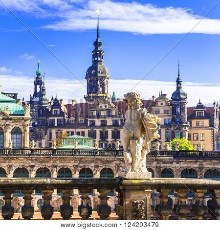 beautiful baroque Dresden - Germany