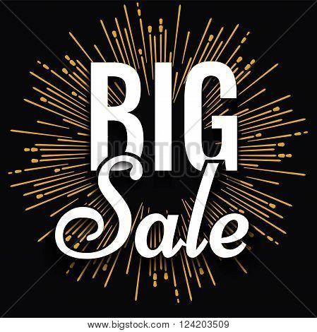 Super creative unique Super Big Sale with vintage hand drawn star or sunburst background. Sale background. Big sale. Sale banner. Vector Sale poster.