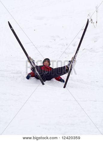 Skier leisure
