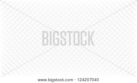 Abstract white background with grey diamond mesh effect diagonal texture in vector