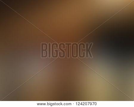 Abstract brown and flesh blurred background with spots texture in vector