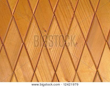 Wooden Rhombus Tiles.background
