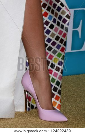 LOS ANGELES - MAR 31:  Zendaya Coleman (shoe detail) at the Confirmation HBO Premiere Screening at the Paramount Studios Theater on March 31, 2016 in Los Angeles, CA