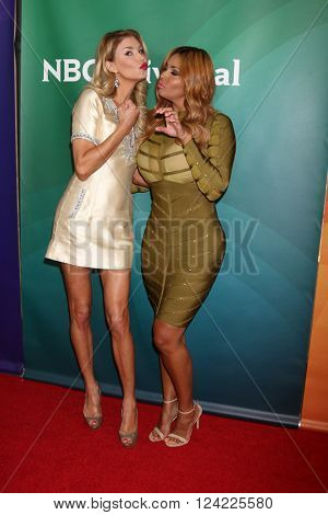 LOS ANGELES - APR 1:  Brandi Glanville, Somaya Reece at the NBC Universal Summer Press Day 2016 at the Four Seasons Hotel on April 1, 2016 in Westlake Village, CA