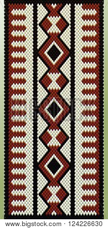 Maroon Theme Middle Eastern Traditional Carpet Fabric Texture