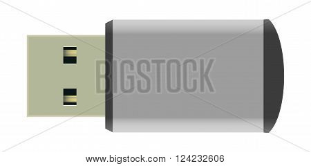 Illustration Vector Graphic USB Stick for the creative use in graphic design