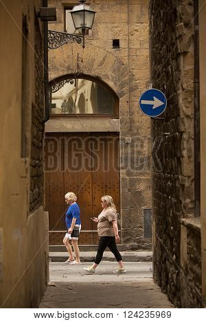 Ancient Alleys Of Florence