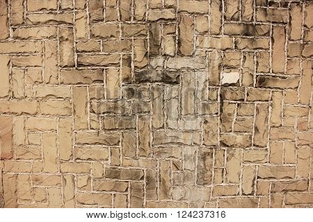 Beautiful Bricks Walls Good For Background And Texture.