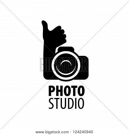 Vector logo template for a photographer or studio