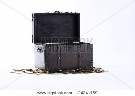 money, chest, is able, mints, treasure-chest, cash, cent, savings, euro, finances,