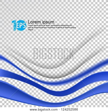 wave abstract elements on checkered background. eps10 vector