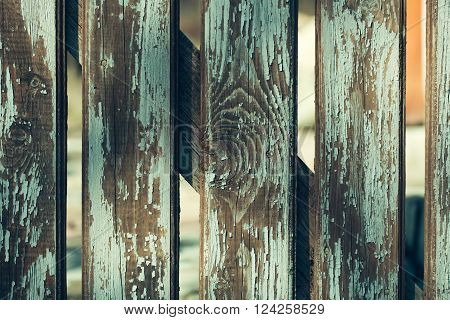Old Wooden Palisade