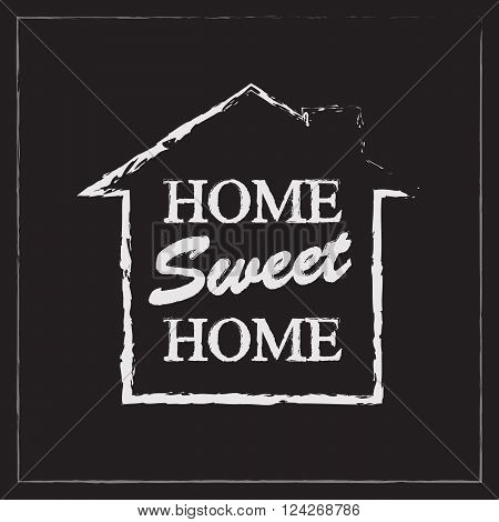 Home Sweet Home. 10 eps vector illustration