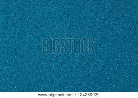 Blue spongy porou rough macro texture background