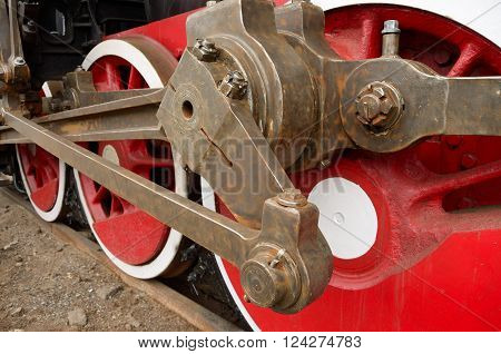 traction on the wheels of the locomotive.