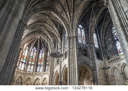 Bordeaux France - March 27 2016: 