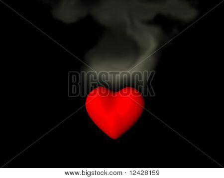 Schwelenden Liebe