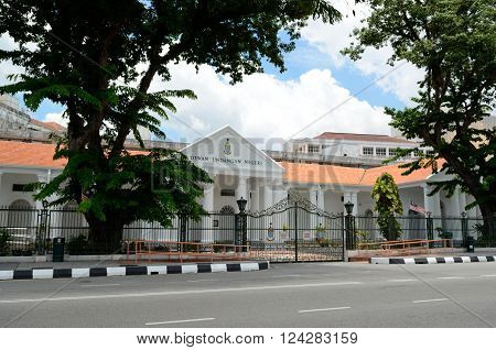 George Town/Malaysia - September 2012: Penang State Assemblyi in George Town, Penang, Malaysia