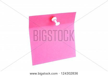 Blank Pink Paper