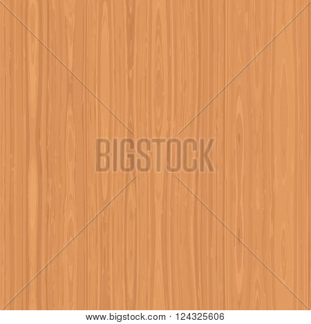 Wood vector texture, light brown realistic wood